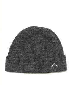 Boot Camp Alpaca Hat - Charcoal Luxe Merino Wool/Alpaca blend knit cap with tonal embroidered logo. - 70% Merino Wool/ 30% Alpaca. - Made in New York.