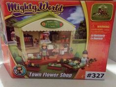 Mighty World Town Florist Flower Shop  Town Life Pretend Toy 8620 New #TownLifeMightyWorld