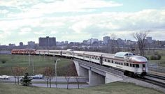 The last CP Canadian leaving Ottawa - October 1978 Ottawa Valley, Canadian Pacific Railway, Railroad Pictures, Train Art, Electric Train, Diesel Locomotive, Photo Archive, Train Station, Vintage Travel