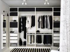 HappyModern.RU | Системы хранения вещей для гардеробной (44 фото): стильно, функционально, эргономично | http://happymodern.ru