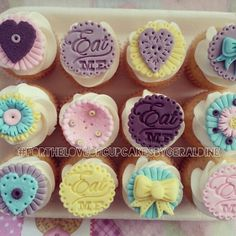 Tea party cupcakes #fortheloveofcupcakesbygeraldine https://m.facebook.com/profile.php?id=180343555337010