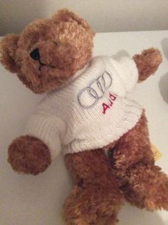 Audi teddy bear,  View more on the LINK…