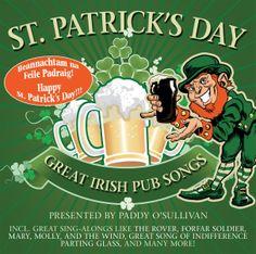 St Patrick's Day Irish Drinking Songs. Details Zu St Patricks Day Great Irish Pub Songs By Paddy Ocd