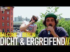 DICHT & ERGREIFEND bei BalconyTVBerlin  https://www.balconytv.com/berlin https://www.facebook.com/BalconyTVBerlin