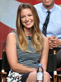 Super beautiful, super sexy, it's Supergirl Melissa Benoist - also known for playing Marley in Glee Melissa Benoist Hot, Melissa Marie Benoist, Supergirl Superman, Supergirl 2015, Blond, Melissa Benoit, Melissa Supergirl, Marley Rose, American Actress