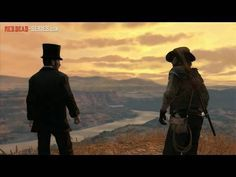 "My favorite side quest of all time from Red Dead Redemption. ""I know you"""