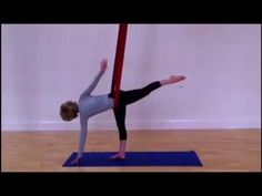 ▶ (embrace) yoga - Aerial yoga - YouTube