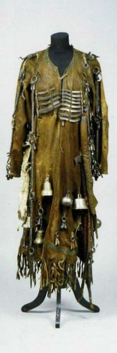 1-2: Buryat shaman costume 3-4: Evenks shaman costume 5-6: Tofi shaman costume
