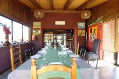 Zona de comedor de salón social -restaurante-