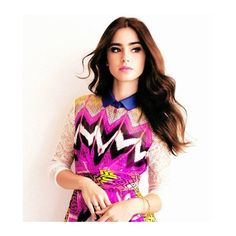 lily collins ❤ liked on Polyvore featuring lily collins and people