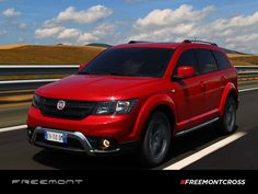 Dodge Journey, Fiat, Cars Motorcycles, Cool Cars, Vehicles, Red, Vehicle, Rouge