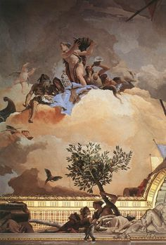 Giovanni Battista Tiepolo (1696-1770) Glory of Spain [detail #3]