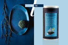 {TEA} Cerámica hecha a mano por Michele Michael de Elephant Ceramics   {TAC}Té Cautiva (té azul) de Lateterazul