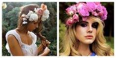 I've been pinning on Pinterest A LOT lately and have come to the conclusion that I'm going to make a flower crown. They are so pretty and perfect. So any gil's wanna come over and have a craft day #Imdowntoclown.