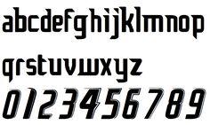 Puma font style 2006