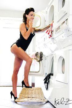 housework pinup