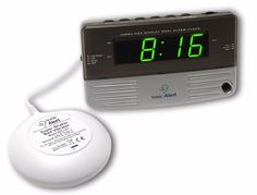 The Sonic Loud Dual Alarm Clock is a great bedside alarm clock as well as an easy clock to travel with. Loud Dual Alarm Clock Features Q : Is this a dual alarm? I need to wake at 2 AM as well as so I need both in one clock. Travel Alarm Clock, Alarm Clocks, Best Alarm, Digital Clock Radio, Thing 1, Sonic Boom, Netflix And Chill, Stereo Headphones, Technology