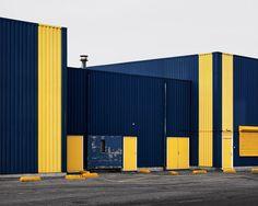 yellow stripes #doors