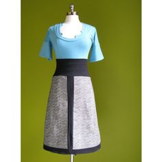 color block dress.  dreamy.