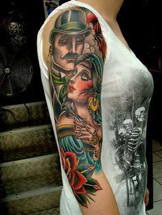 Estilo de Valerie Vargas - #InkMX #Tattoo #Tatuajes