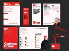 Pentagram's Paula Scher rebrands The Heart & Stroke Foundation of Canada It is the charity's first update to its identity in over 60 years, with the aim of inspiring young people to support its fundraising activities.