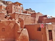Abyaneh, a thousand old village made of red soil