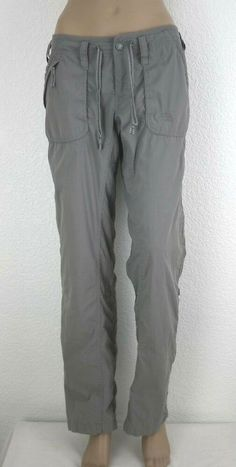 The North Face Women's Size 6 Khaki Convertible Pants Shorts Camping Hiking North Face Women, The North Face, Camping Pants, Brand Name Clothing, Convertible, Parachute Pants, Thighs, Hiking, Shorts