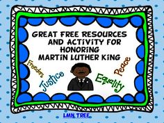 Sunny Days in Second Grade: Show and Tell Tuesday - MLK