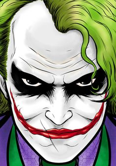 Joker Movie Portrait Series by *Thuddleston