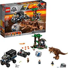 LEGO Jurassic World Carnotaurus Gyrosphere Escape 75929 Building Kit Pieces) Jurassic World Set, Jurassic World Dinosaurs, Baby Dinosaurs, Lego Ninjago, Teenage Mutant Ninja Turtles, Paw Patrol, Power Rangers, Legos, Lego Dragon