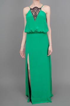 Gorgeous Mason by Michelle Mason Lace Maxi Dress