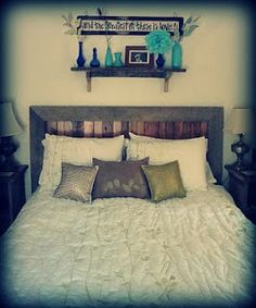 home tour - our comfy, casual, and slightly rustic bedroom - Bare Feet on the Dashboard