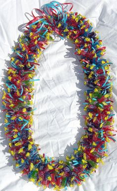 candy lei...uh love the poly traditions but man they take FOREVER!!! love my son tho...