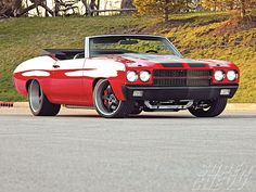 1970 SuperChevy Chevelle Roadster Restomod. Awesome American Musclecar!