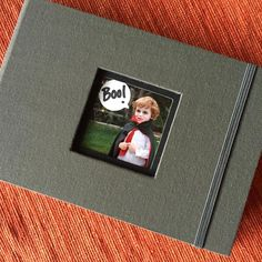 KINSHO Pocket Albums are perfect for a mini photo collection of Halloween memories.