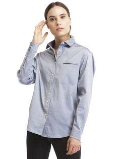 .05 The Boyfriend Button Up - size Medium