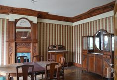 Argonne art nouveau farmhouse for sale E140k original furniture, looks like