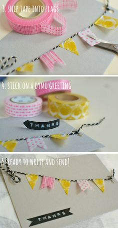 Washi Tape How to /