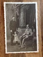 ROYALTY AUSTRIA - EMPEROR FRANCIS JOSEPH with heirs - Habsburg - 3 generations