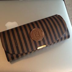 RARE VINTAGE Fendi sunglass glasses case Adorable! Vintage fendi! Excellent condition especially for age. Very minimal wear. Inside almost like new. Felt lined. FENDI Accessories Glasses