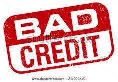 bad credit stamp