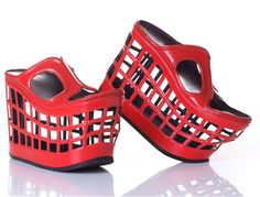 basket shoes >> Finally something that looks good while still being practical... ha ha ha!