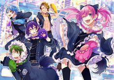 埋め込み Happy Tree Friends, Cute Anime Guys, Cute Anime Couples, Anime Kunst, Anime Art, Vocaloid, Zutto Mae Kara, Super Hero Life, Honey Works