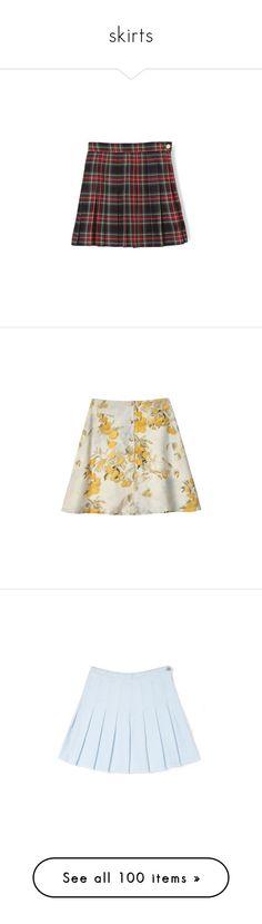 """skirts"" by mfaladdy ❤ liked on Polyvore featuring skirts, bottoms, clothing - skirts, japan, bubble skirts, mini skirts, a-line skirt, half circle skirt, silk mini skirt and samantha pleet"