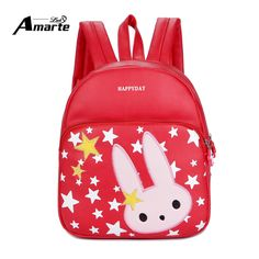 124990b8f40 New Cute Kids Bags Cartoon Character Pattern Designer Baby Children  Backpack Leather School Backpacks for Kindergarten