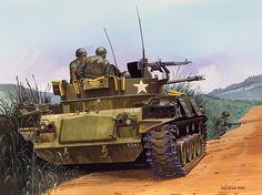 M-42 Duster in Nam