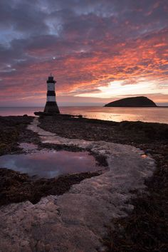 *Penmon Lighthouse is positioned on Anglesey's east coast at Tywrn Du.
