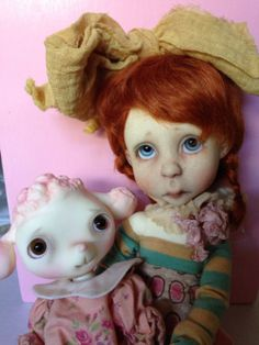 Connie Lowe Lulu and Paula Goodreau Pooey BJD | eBay
