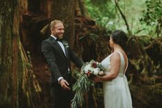 An Intimate Woodland Ceremony and Glamorous Jazz-age Reception in British Columbia, Canada | Love My Dress® UK Wedding Blog