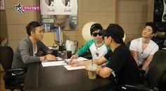 Epik High recently on SBS Barefoot Friends yesterday 8/11/13! icaruswalksnet.tumblr.com